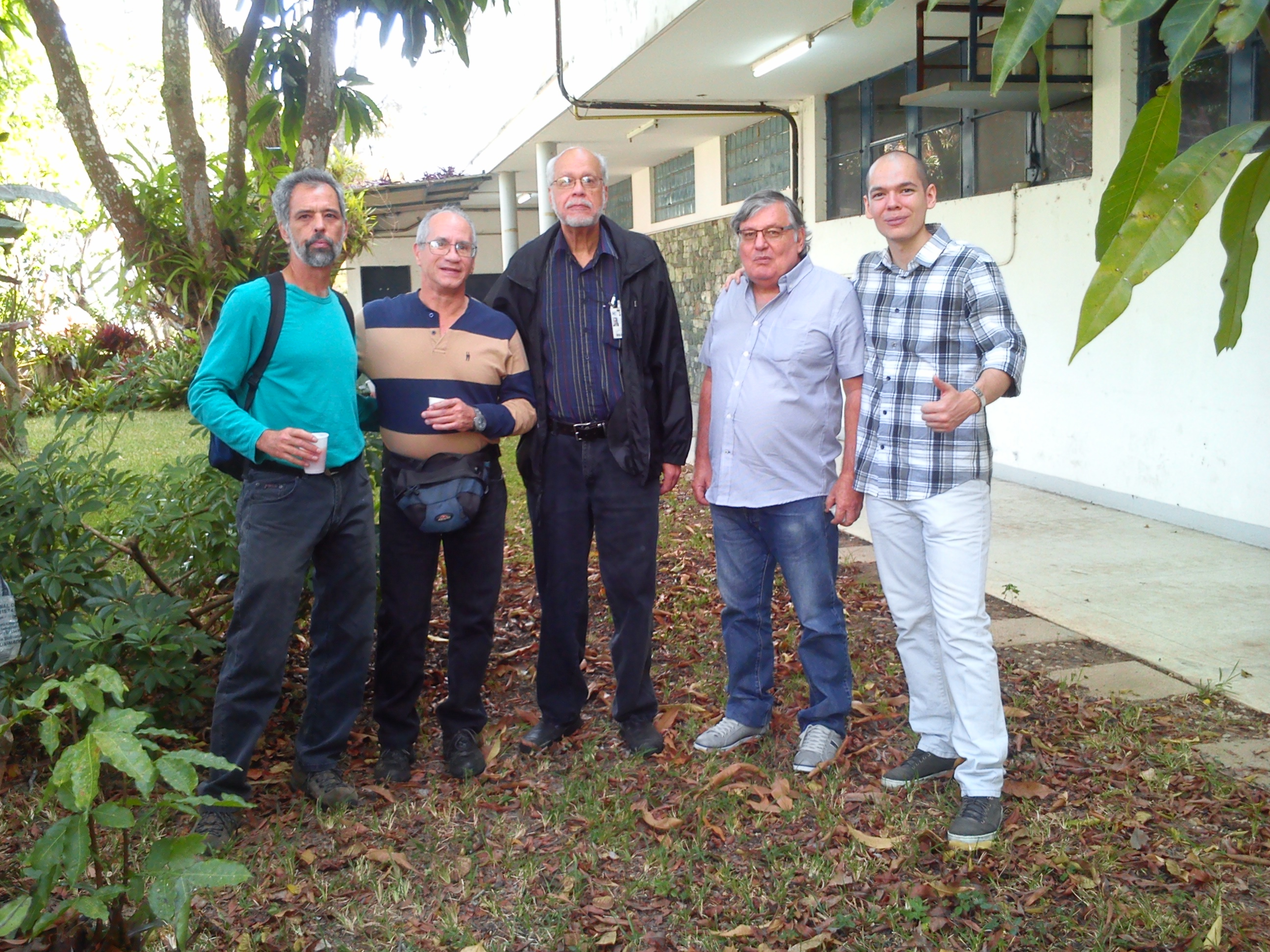 Gustavo Márquez, Lorenzo Alamo, Raúl Padrón, Antonio Pinto and sebastian Duno